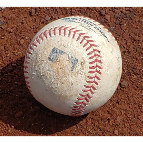 Photo of 2019 Phillies Game-Used Baseball - Bryce Harper Walk-Off Grand Slam At-Bat