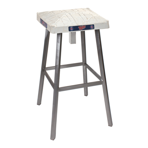 Photo of Tokens & Icons Minnesota Twins Game Used Base Stool