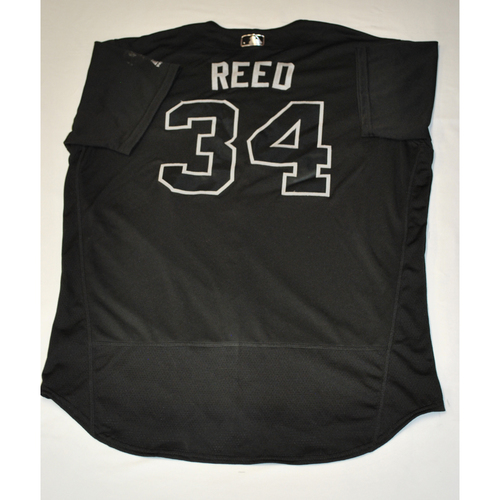 "Photo of Marty ""REED"" Reed Atlanta Braves Game-Used 2019 Players' Weekend Jersey"
