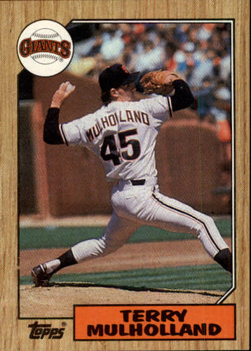 Photo of 1987 Topps #536 Terry Mulholland RC