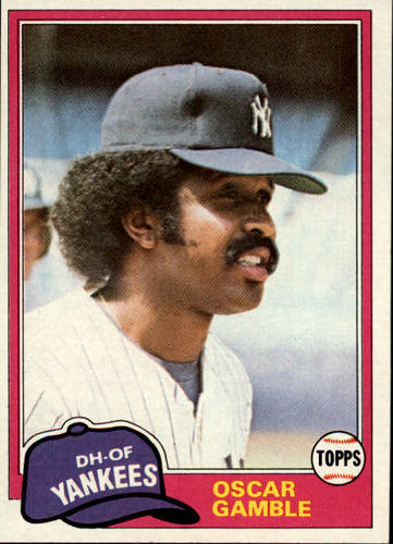 Photo of 1981 Topps #139 Oscar Gamble