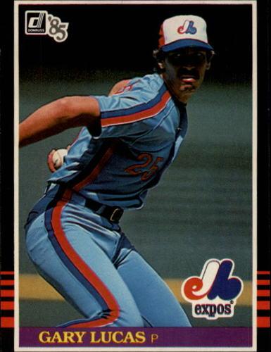 Photo of 1985 Donruss #498 Gary Lucas