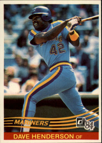 Photo of 1984 Donruss #557 Dave Henderson
