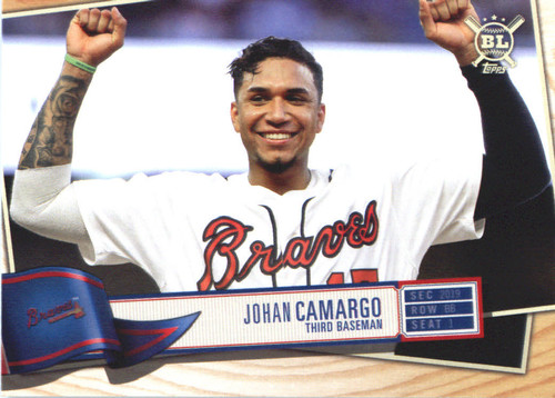 Photo of 2019 Topps Big League #258 Johan Camargo