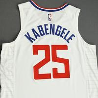 Mfiondu Kabengele - Los Angeles Clippers - Game-Worn Association Edition Jersey - NBA Canada Series - 2019-20 NBA Preseason