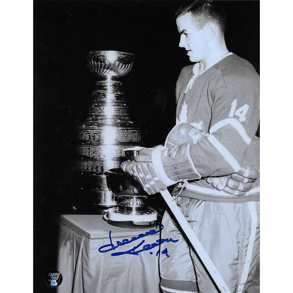 Dave Keon Autographed Toronto Maple Leafs 8X10 Photo