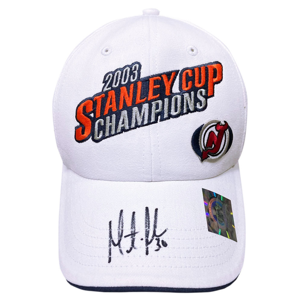 Martin Brodeur Autographed New Jersey Devils 2003 Stanley Cup Champions Hat