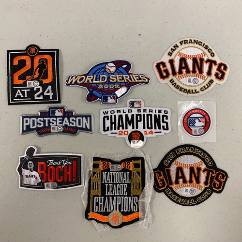 Photo of Team Issued Patch Lot - 9 Patches Total!