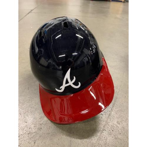 Photo of 2021 MLB Draft Used Helmet: Atlanta Braves