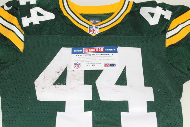 NFL Auction | STS - PACKERS JAMES STARKS GAME WORN PACKERS JERSEY ...