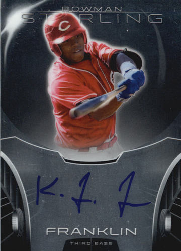 Photo of 2013 Bowman Sterling Prospect Autographs #KF Kevin Franklin