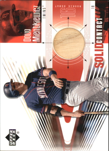 Photo of 2002 Upper Deck Rookie Debut Solid Contact #DM Doug Mientkiewicz
