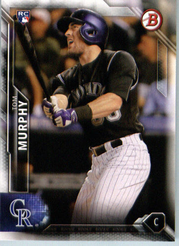 Photo of 2016 Bowman #148 Tom Murphy RC