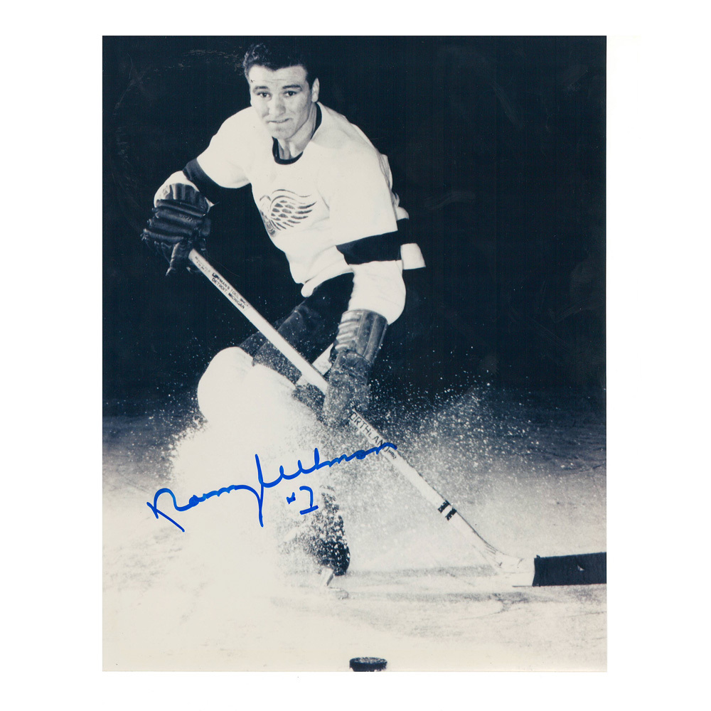 NORM ULLMAN Signed Detroit Red Wings 8 X 10 Photo - 70099