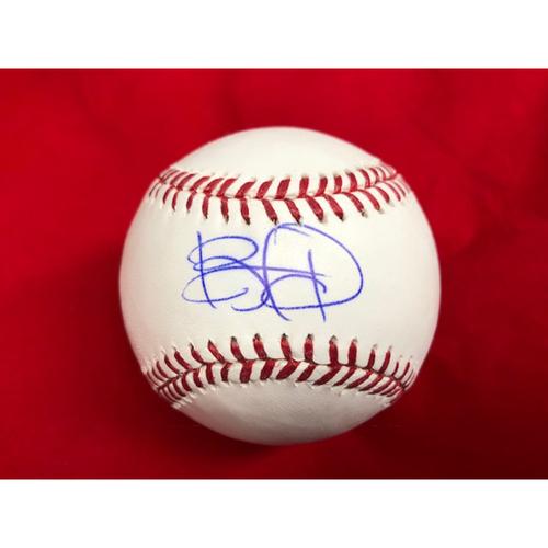 Photo of Brandon Phillips -- Autographed Baseball