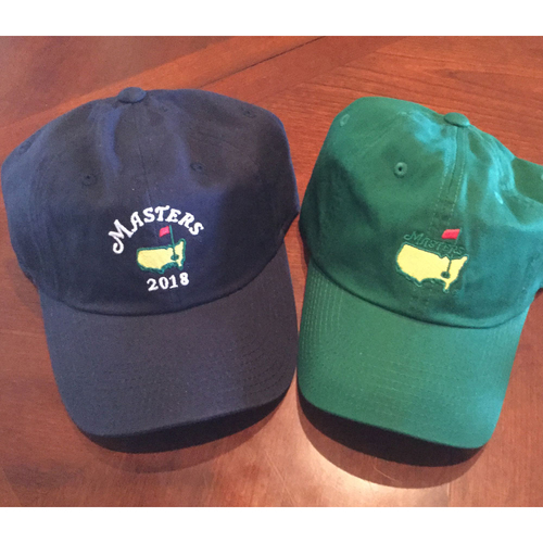 Photo of UMPS CARE AUCTION: Two Baseball Caps from The Masters Golf Tournament