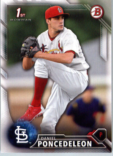 Photo of 2016 Bowman Prospects #BP53 Daniel Poncedeleon