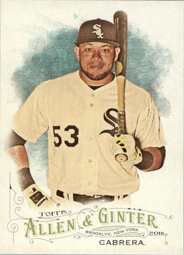 Photo of 2016 Topps Allen and Ginter #67 Melky Cabrera