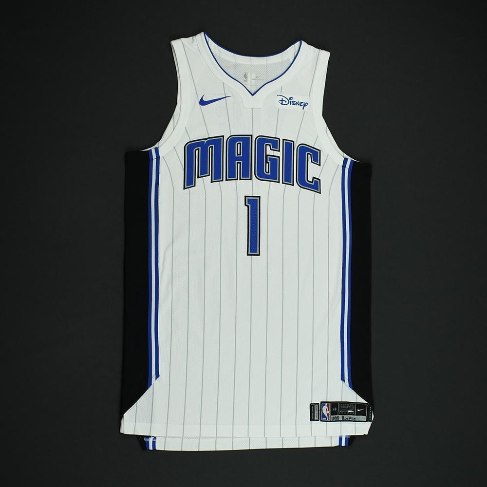 Jonathan Isaac - Orlando Magic - Game-Worn Rookie Debut Jersey (Opening Night) - 2017-18 Season