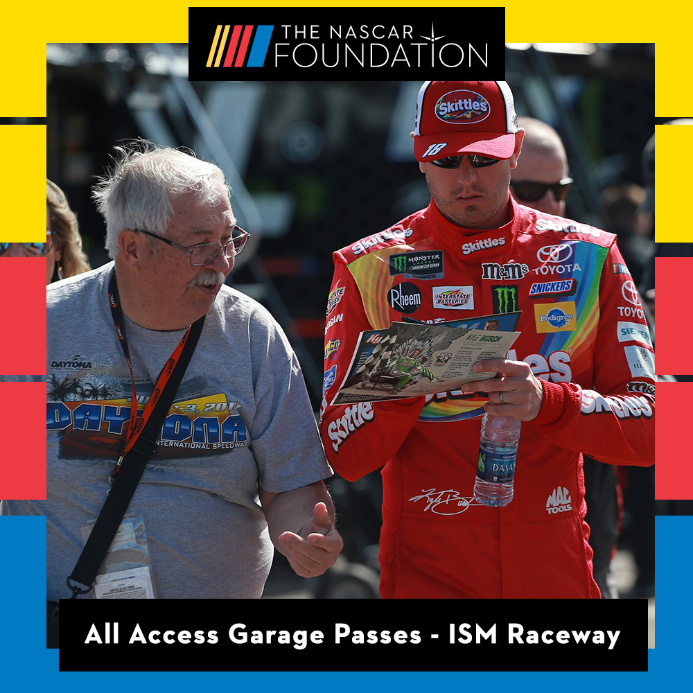 All Access Garage Passes at ISM Raceway benefitting The Paralyzed Veterans of America!