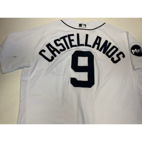 Photo of Game-Used Home Jersey: Nicholas Castellanos