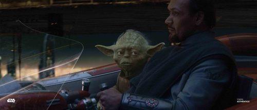 Yoda and Bail Organa
