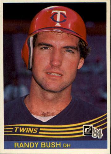 Photo of 1984 Donruss #513 Randy Bush