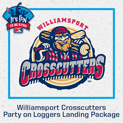 Williamsport Crosscutters Party on Loggers Landing Package