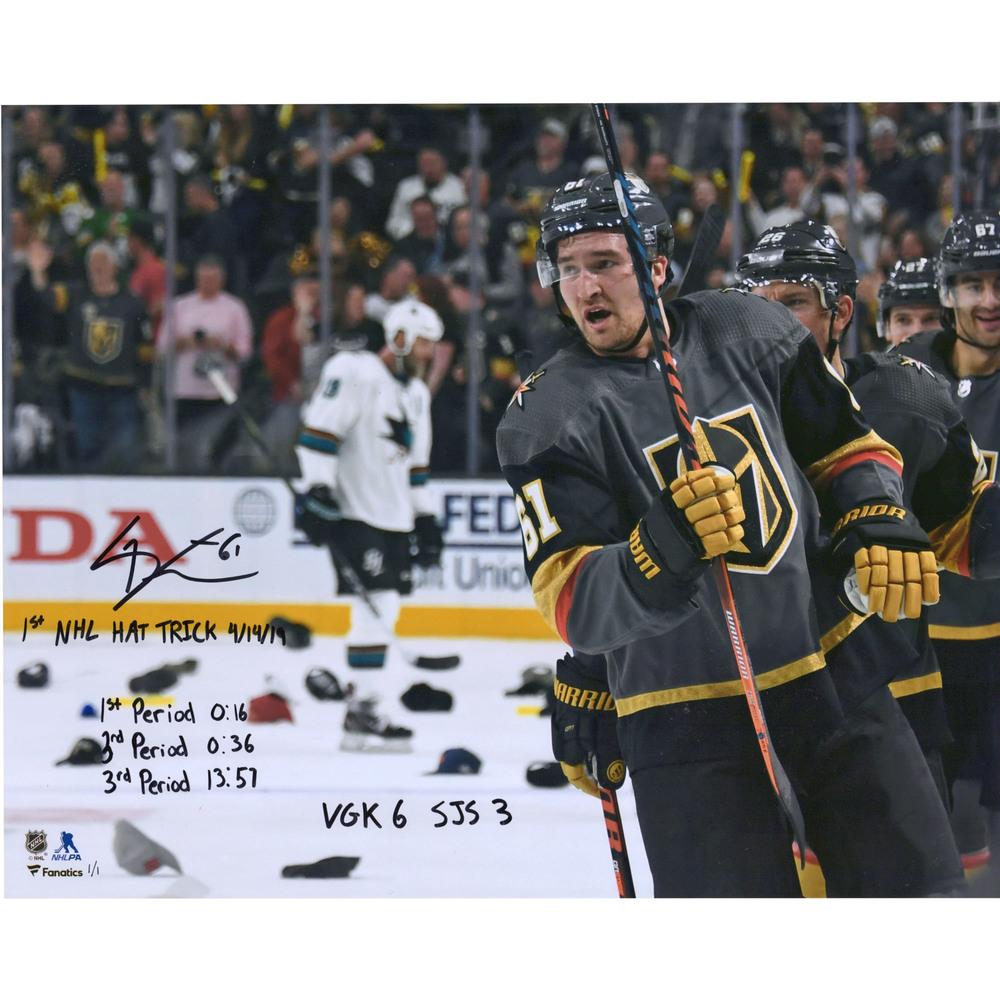 Mark Stone Vegas Golden Knights Autographed 16