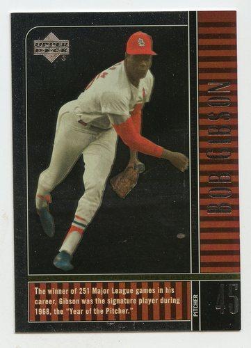 Photo of 2000 Upper Deck Legends #22 Bob Gibson