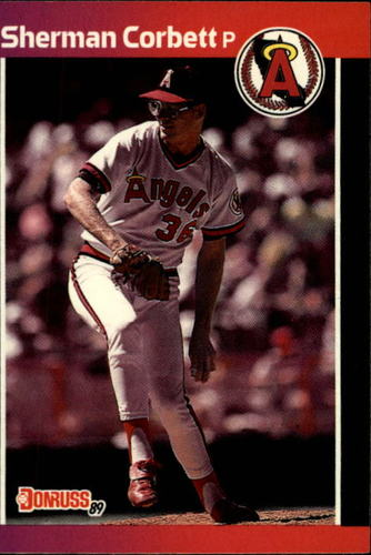 Photo of 1989 Donruss #407 Sherman Corbett RC