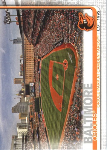 Photo of 2019 Topps #441 Oriole Park at Camden Yards