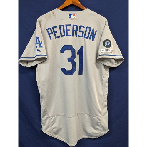 Joc Pederson Game-Used Road Home Run Jersey