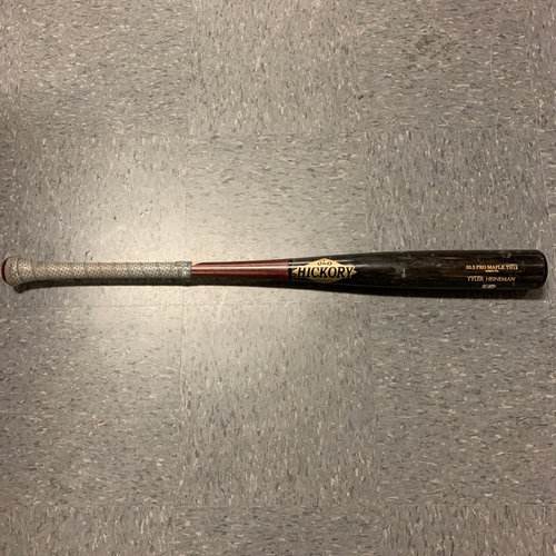 Photo of 2020 Game Used Broken Bat - #43 Tyler Heineman - used 8/18 @ LAA - T-2: Bundy to Heineman - Pop Out