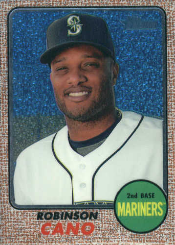 Photo of 2017 Topps Heritage Chrome #THC422 Robinson Cano