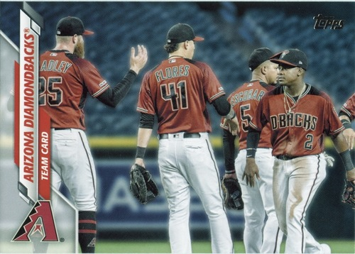 Photo of 2020 Topps #651 Arizona Diamondbacks TC