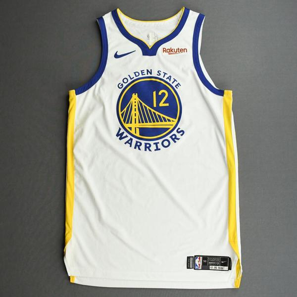 Image of Kelly Oubre Jr. - Golden State Warriors - Game-Worn Association Edition Jersey - Christmas Day' 20