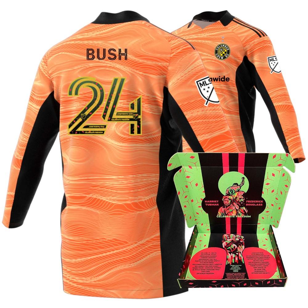 Evan Bush Columbus Crew Match-Used & Signed