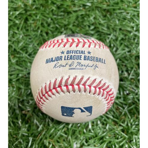 Photo of Game Used Baseball: Charlie Morton strikes out Bobby Dalbec - Top 4 - September 13, 2020 v BOS