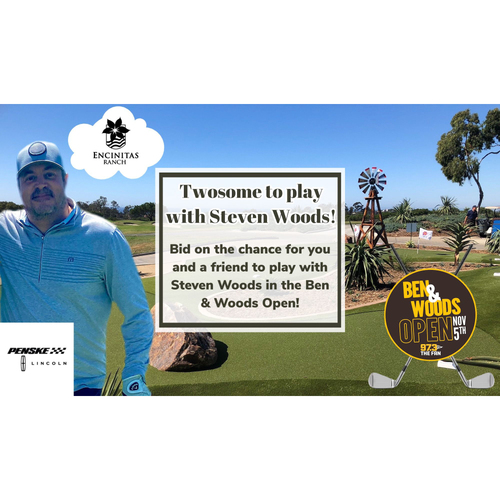 Photo of Twosome to Play Golf in the Ben & Woods Open at Encitas Ranch with Steven Woods
