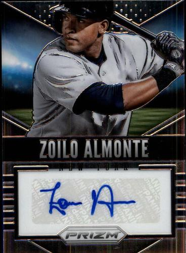 Photo of 2014 Panini Prizm Signatures #44 Zoilo Almonte