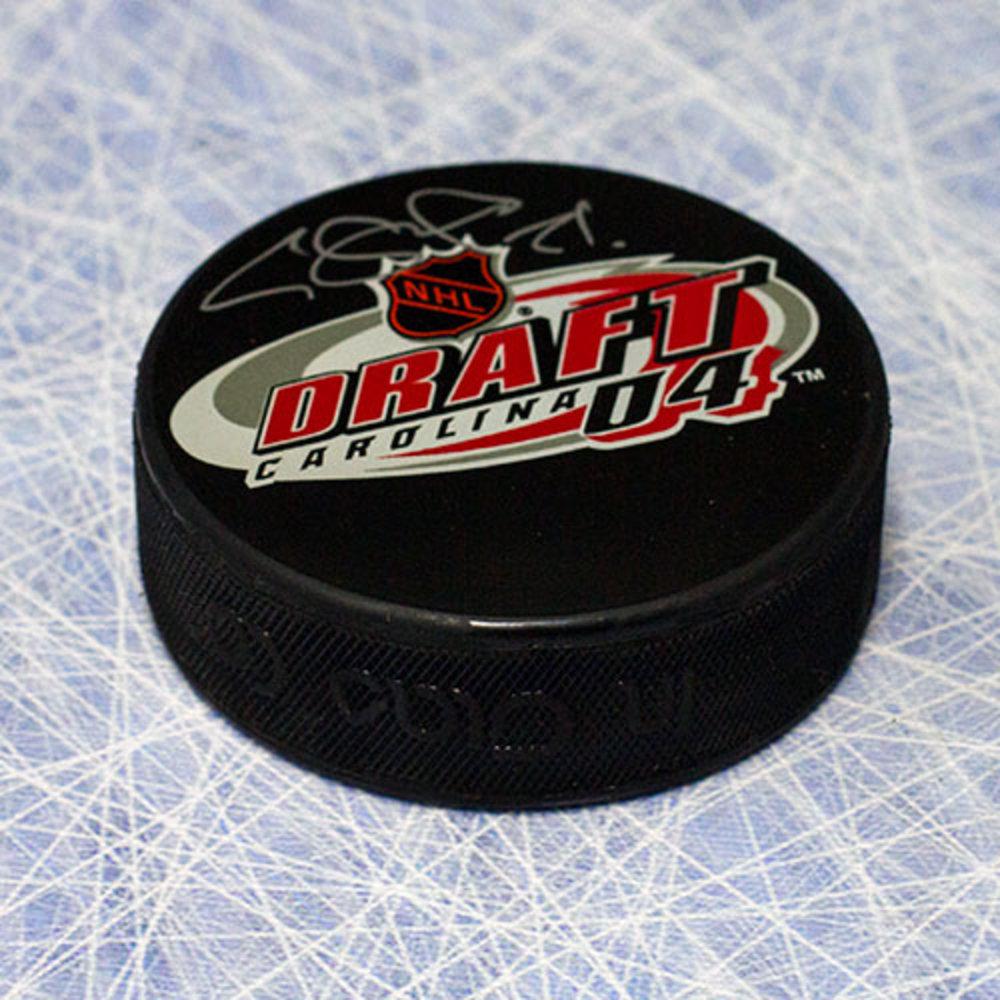 Evgeni Malkin Autographed 2004 NHL Draft Day Puck *Pittsburgh Penguins*