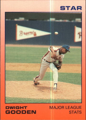 Photo of 1988 Star Gooden Glossy #2 Dwight Gooden/Major League Stats