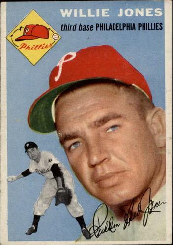 Photo of 1954 Topps #41 Willie Jones