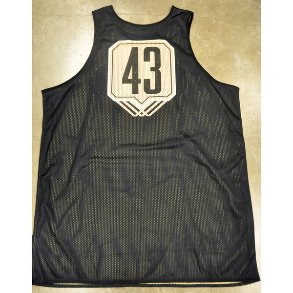 Photo of Nike Men's Basketball Official Practice Jersey // Triple Line // No. 43