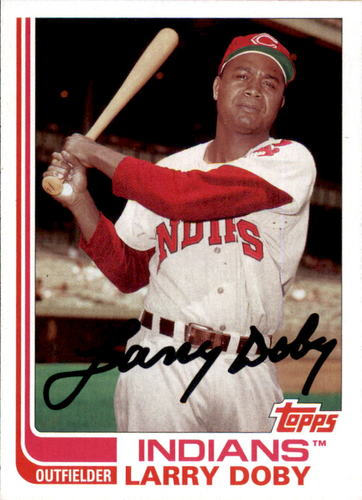 Photo of 2017 Topps Archives #164 Larry Doby