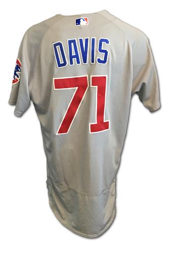 Taylor Davis Team-Issued Jersey -- 2017 Season