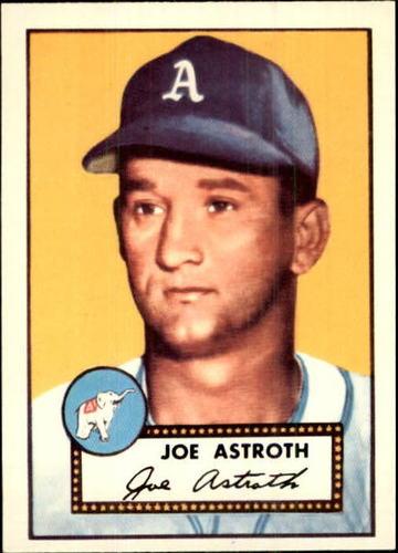 Photo of 1983 Topps 1952 Reprint #290 Joe Astroth