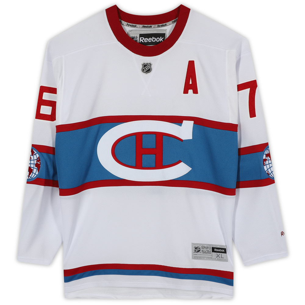 newest 79c10 c1106 P.K. Subban Montreal Canadiens 2016 Winter Classic Unsigned ...