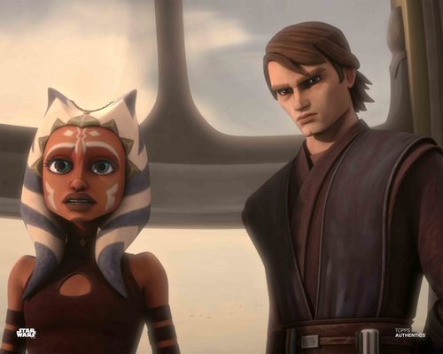 Anakin Skywalker and Ahsoka Tano